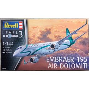 Revell Escala 1/144 Avião Embraer 195 Air Dolomiti