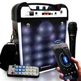 Caixa Som Amplificada Bluetooth Radio Fm Usb Mp3