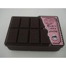 Lancheira Marmita Barra De Chocolate