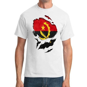 Remera Angola Angolan Ripped Effect Under Shirt