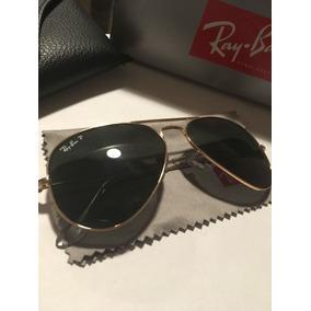 b816a2b73 Gafas Ray-ban Originales Aviador Polarizadas Gota Chica