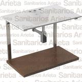 Lavatorio Mueble 60 Cm Con Soporte Ferrum Durcelana Y173 E