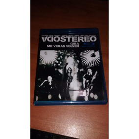 Soda Stereo Gira Me Veras Volver Blu Ray Hd Bootleg
