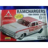 1964 Dodge 330 Ram Charger Escala 1/25 Lindberg