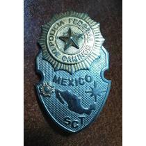 Coleccionable Insignia Placa Policia Federal De Caminos Sct