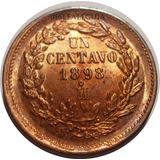 1 Centavo Porfiriano 1898 Mo - México - República Mex. Bu