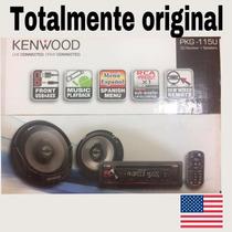 Combo Reproductor Kenwood Modelo Kpg-115u Menú Español