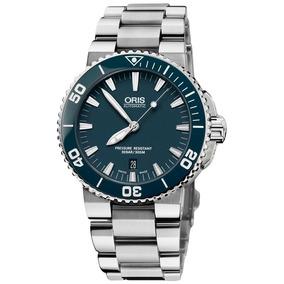 Reloj Oris Aquis Date 73376534155 Tienda Oficial