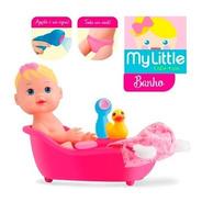 Muñeca Hora Del Baño Duchador Patito Accesorios Diver Toys