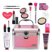 Maleta De Maquiagem Profissional Completa Avon Jasmyne V297
