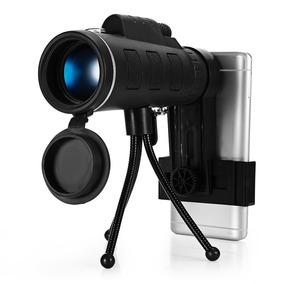 Telescopio Monocular 40x60 Hd Mini C/visión Nocturna+trípode