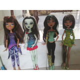 Monster High! Cleo, Frankie, Clawdeen