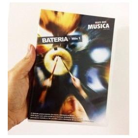 Mais Que Música - Aula Bateria - Mês 1 Heitor Castro 2 Dvds