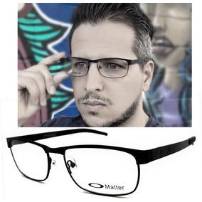 d0fa2e7c6a918 Armacao Oculos De Grau Masculino Tamanho 60 Armacoes - Óculos no ...