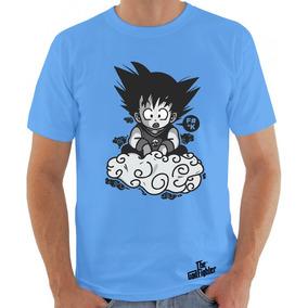 Camiseta Dragonball Goku E Nuvem Voadora