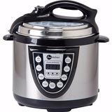 Panela De Pressão Elétrica 4l Inox Fun Kitchen 110v