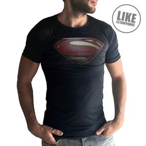 Remera Superman Traje Remeras Hombre Entalladas Diseño 2018
