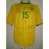 Brasil # 15 - Toda Autografada De Jogo - Temporada 2000
