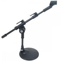 Pedestal Suporte De Mesa Para Microfone Mini Girafa Vector