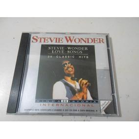 Cd Stevie Wonder - 20 Classic - Hits - Love Songs