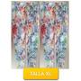 Pantalon Leggins Licras Estampado Flores Talla Xl Mor-07xl