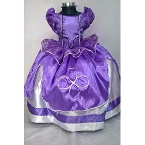 Vestido Princesa Disfraz Sofía