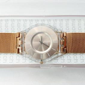 854dbcbf32a Relógio Swatch Full Blood Ouro - Relógios De Pulso no Mercado Livre ...