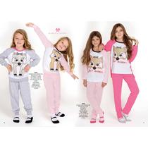 Pijama Marcela Koury Talle 10 Al 18. Invierno 2016