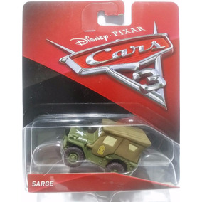 Cars 3 Rayo Sargento Coleccion Disney Pixar