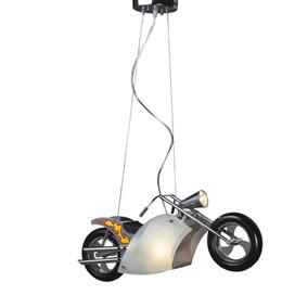 Lámpara Colgante En Forma De Moto