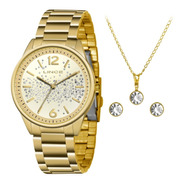 Relógio Feminino Lince Original C/ Nota Fiscal Sk42 + Kit