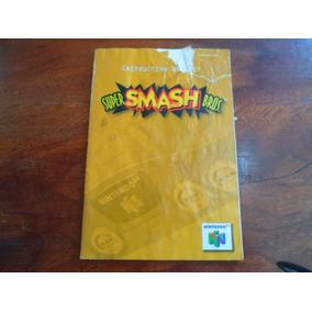 Manual Super Smashbros N64 Original