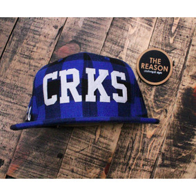 Gorra Crooks And Casttles Flannel 9 Fifty Stpback The Reason