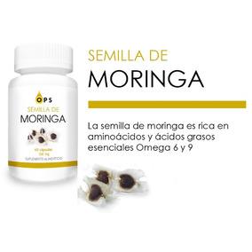 6 Pack! Capsulas De Semilla De Moringa