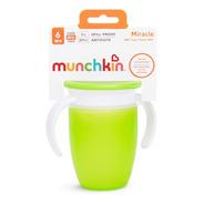 Copo 360 Munchkin Miracle Cup +6m C/ Alça E Tampa Envio 24h