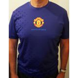 Remera Estampa Manchester United Etiqueta Oficial Holograma