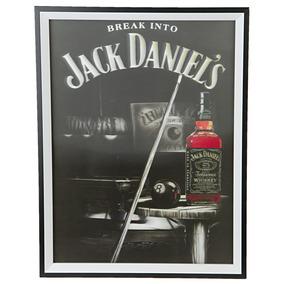 Placa Quadro Whisky Jack Daniel