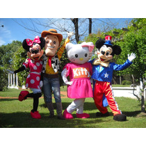 Vendo Personajes Disfraz Cabezón W. Pooh Woody Backyardigans