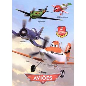 Avião De Lançar De Isopor Filme Aviões El Chupacabra 4 Model