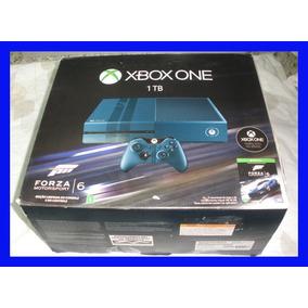 Xbox One 1 Tera Com Forza 6 Headset Completo