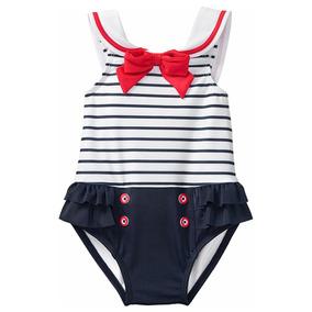 Traje De Baño Gymboree Para Bebitas