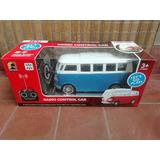 Combi Vw Volkswagen Mini Bus Radio Control Furgon