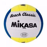 Kit 10 Bolas De Volei De Praia Mikasa Beach Oficial Vx20