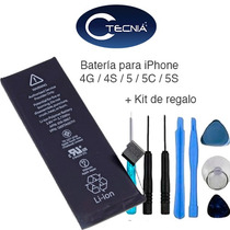Batería Iphone 4g / 4s / 5 / 5c / 5s Con Kit De Regalo