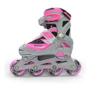 Rollers Joma Mito Extensible Abec 7 Rosa (0012)