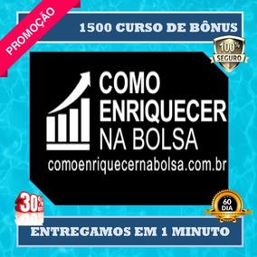 Como Enriquecer Na Bolsa De Valores- Marcelo Veiga+ Brindes