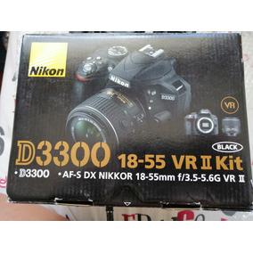 Camara Nikon D3300 + Bolsito De Ragalo Y Sd 16gb