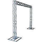 Box Truss Treliças Kit Trave Q20 Aço 2,5x3m Estrutura Dj
