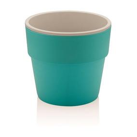 Para Plantar Em Casa Vaso Grande Com Aro Azul Flor Alimento