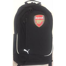 Mochila Puma Arsenal Shield Color Negro